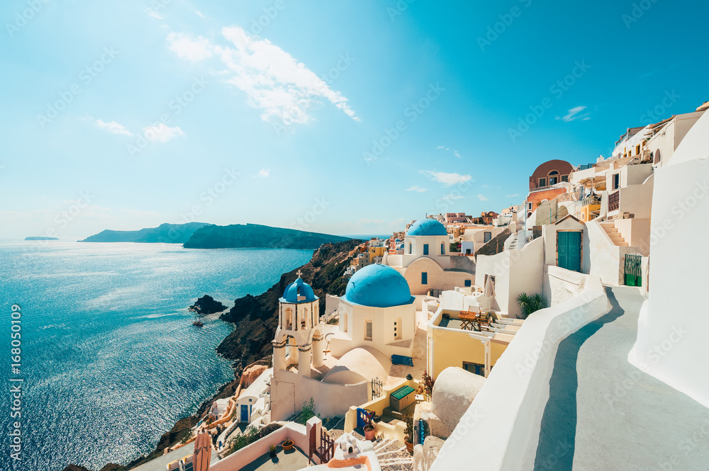 Fototapety, obrazy: Oia Santorini Greece