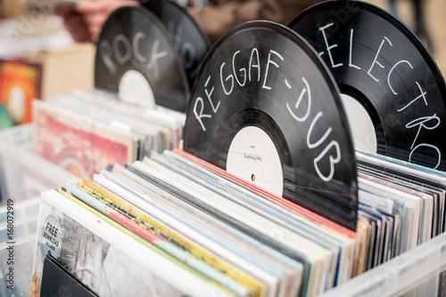 Fotomural disque vinyl