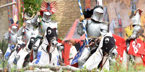 Photo cavalier médiéval