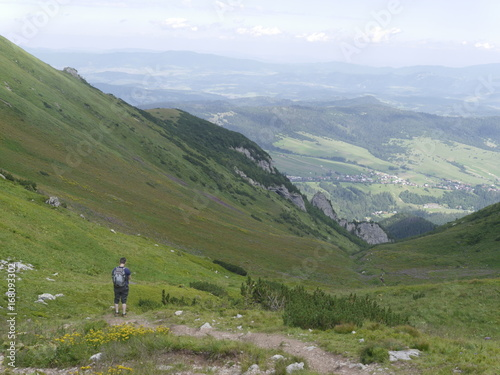 Fotografie, Obraz  europa.Tatry Bielskie.szlak na Szalony Przechód