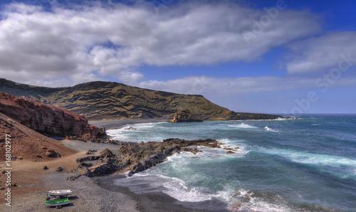 Foto op Plexiglas Poolcirkel El Golfo in Lanzarote