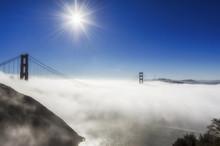 Golden Gate Bridge In The Fog ...