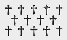 Cross Logo. Religion, Crucifix...