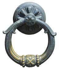Old-fashioned Steel Knocker Is...