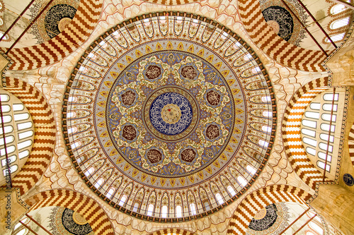 Stampa su Tela  The Dome of Selimiye Mosque, Edirne