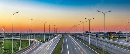 Autostrada Canvas Print