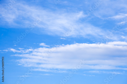 Fotografie, Obraz  the beautiful blue sky with clouds background