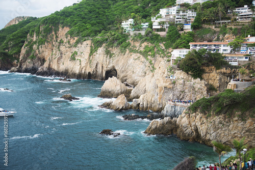 Photo La Quebrada, Acapulco Shoreline Mexico