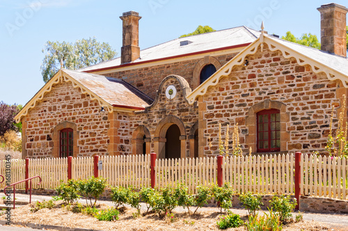 Photo The Old Police Station and Courthouse were completed in 1860 - Auburn, SA, Austr