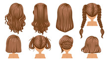 Brown Hair Beautiful  Hairstyl...