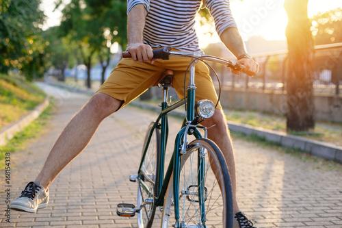 Zdjęcie XXL Jazda na rowerze w parku
