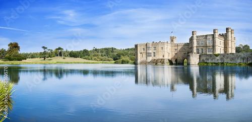 Montage in der Fensternische Grau Leeds Castle in England