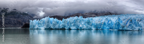Canvas Prints Glaciers Grey Glacier at Torres del Paine NP, Patagonia, Chile - HDR panorama