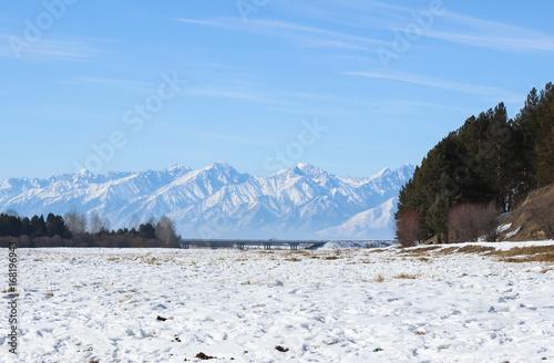 Fényképezés The sky and mountains.