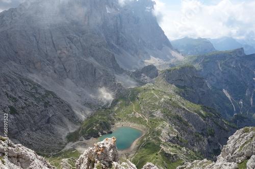 Fotografija  Lake Coldai view from peak