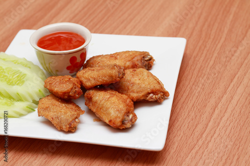 Fried Chicken Food And Drink Food Plate Food Background Buy