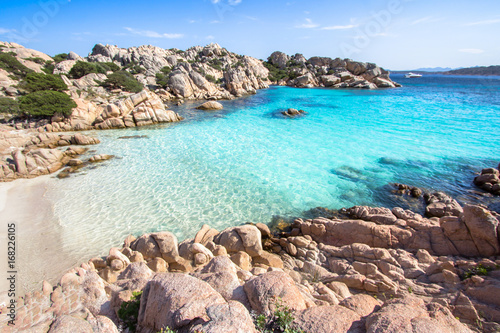 Photo  Beach of Cala Coticcio, Sardinia, Italy