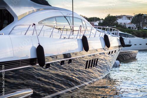 Luxury yachts in Porto Cervo, Sardinia, Italy