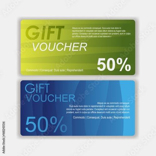 gift voucher template cute gift voucher certificate coupon design