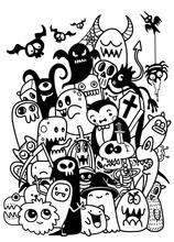 Vector Illustration Of Cute Ha...