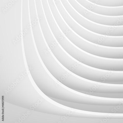 Papiers peints Tunnel Modern Circular Building Construction