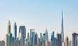 Futuristic Dubai Skyline