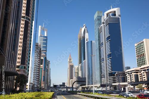 Fototapeta Sheikh Zayed Road