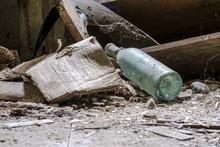Old Vine Bottle In The Abandon...