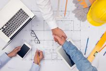 Hands Of Professional Architec...