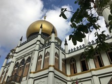 Masjid Sultan Mosque In Singapore During Day