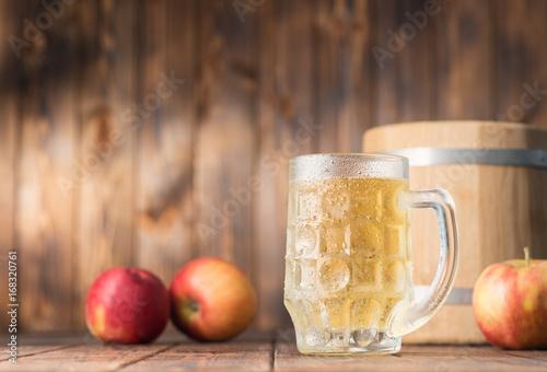 Apple cider Fototapeta