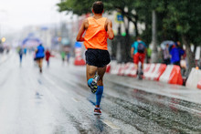 Back Man Athlete Runner Runnin...
