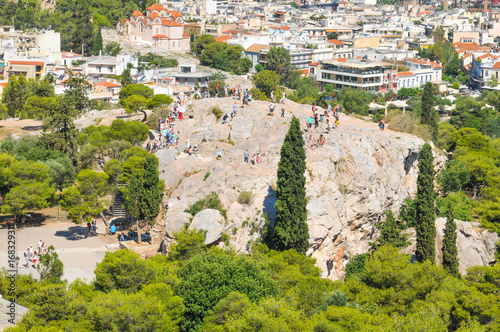Areopagus in Athens, Greece