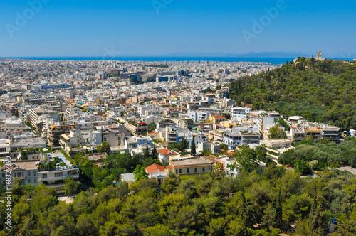 Staande foto Athene Skyline of Athens, Greece