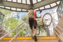 Biker In New York