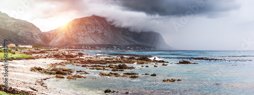 Tuinposter Kust Beautiful landscape of Betty's Bay