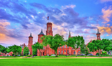 The Smithsonian Castle In Wash...