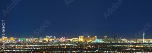 Canvas Prints Las Vegas Las Vegas Skyline