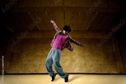 Valokuva  Girl Hip-Hop Dancer