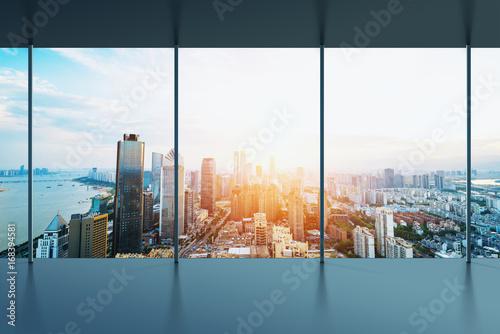 Obrazy na płótnie Canvas Manhattan office city view