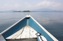 Boat On The Lake Kivu