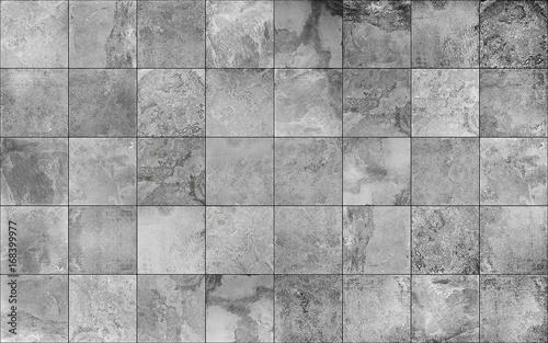 Obraz na plátně Slate tile ceramic seamless texture