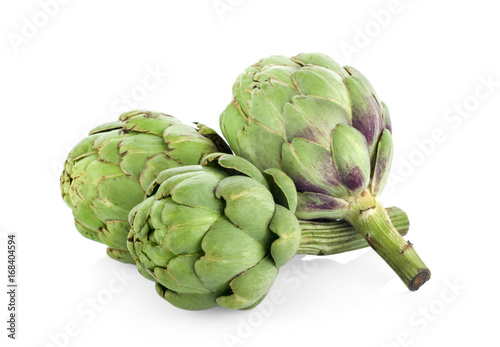 Photo artichoke isolated on white background