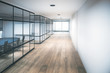 canvas print picture - Contemporary office hallway