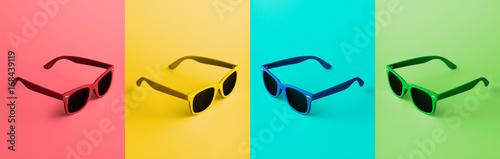 Canvas Print Colorful Glasses