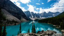 Beautiful Landscape, Blue Lake...