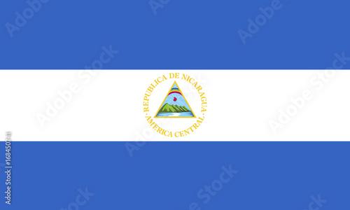 Fotografie, Obraz Flag of Nicaragua