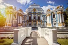 Palace Hermitage In Pushkin Russia