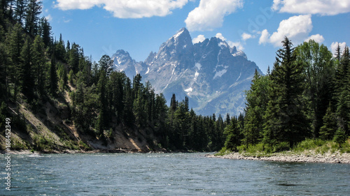 Jackson, Wyoming River and Mountain View