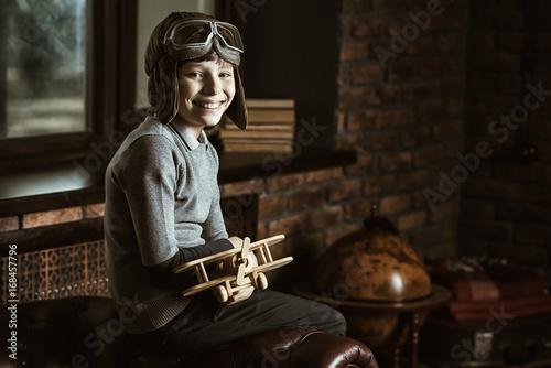 Fotomural great aviator and traveler
